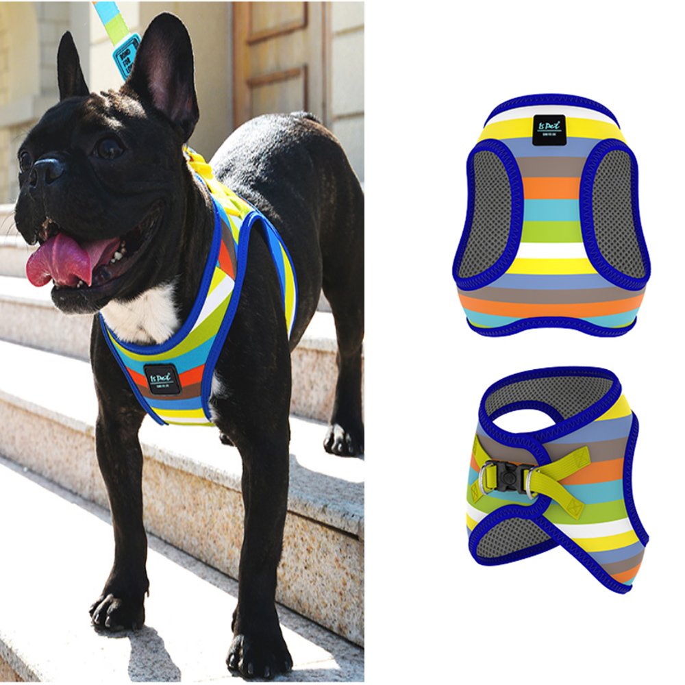 Dog Pet Harness Collar Adjustable Breathable Web Soft Vest For Small Medium Dog Harness Vest Supplies in Harnesses from Home Garden