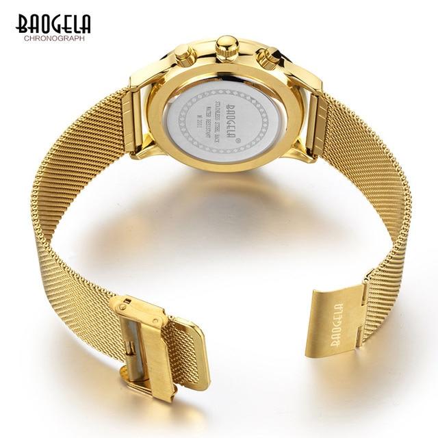 BAOGELA  Sports quartz-watch stainless steel Men Watches  5