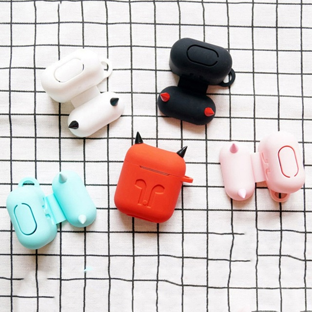 Devil Style Soft Silicone AirPod Case Cover 5