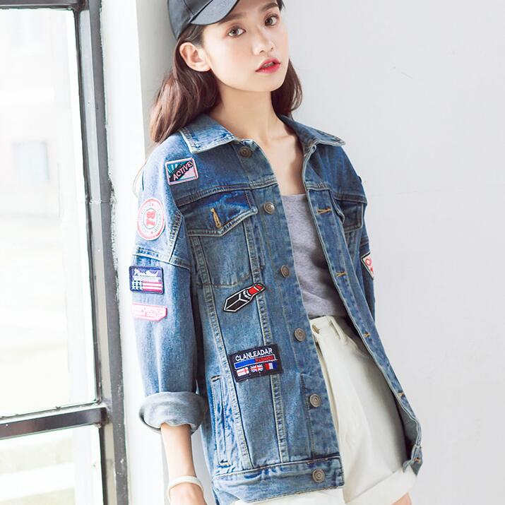 Popular Boyfriend Fit Denim Jacket-Buy Cheap Boyfriend Fit Denim ...