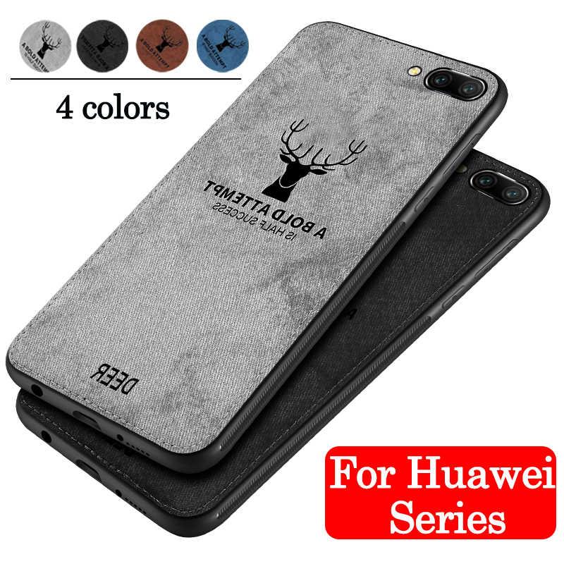 Чехол на honor 9 10, легкое силиконовое покрытие для huawei P20 Pro lite, мягкая задняя часть из ткани для huawei huavei, чехол для телефона