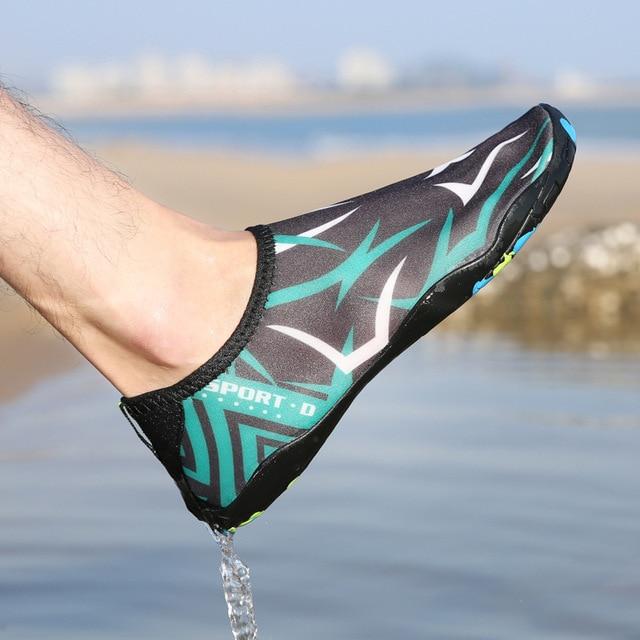 Unisex Sneakers Swimming Shoes Water Sports Aqua Seaside Beach Surfing Slippers Upstream Light Athletic Footwear For Men Women 4