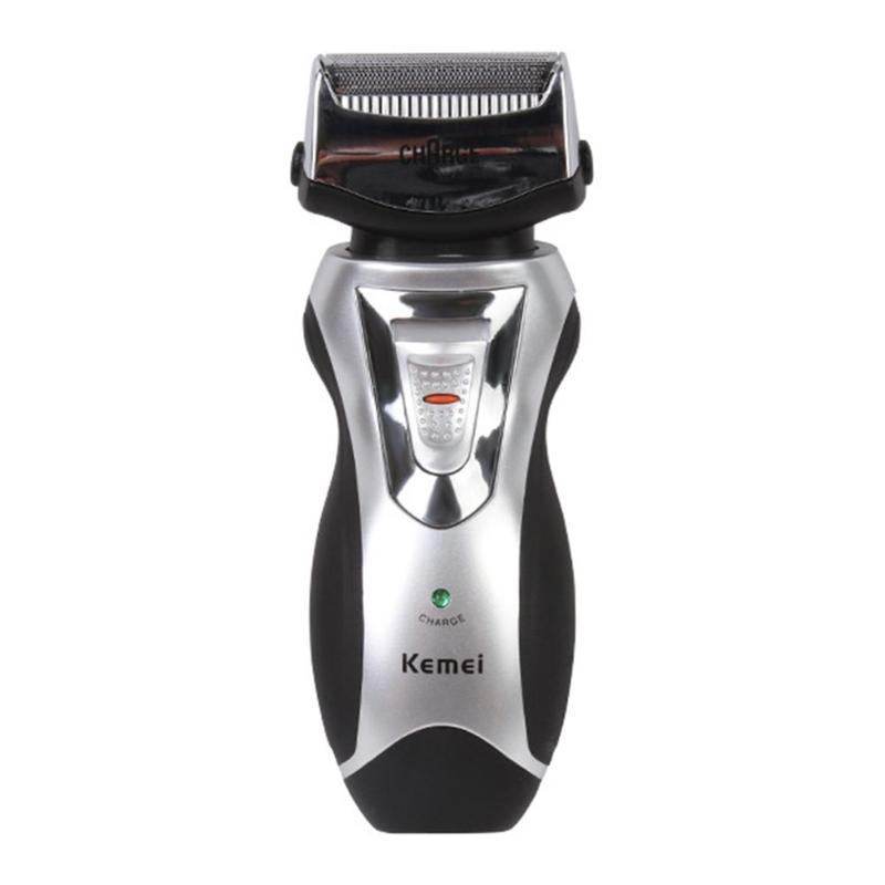 Kemei KM-8007 Electric Shaver Reciprocating Beard Trimmer Shaver Rechargeable Shaving Machine Face Care Men Razor Groomer kemei km 1720 rechargeable reciprocating cordless blade electric razor shaver for men shaving machine face care eu plug