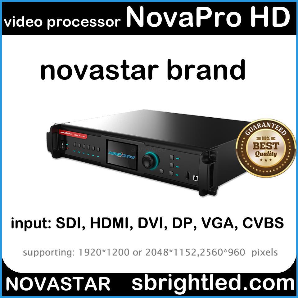 US $5630 0 |novastar NOVAPro HD Led video processor scaler nova controller  led screen video system complex setup full color RCFG hot backup-in LED
