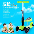 2016 kids triple scooters car baby walker for 1-6 years old children kids sit adjustable tricycle skateboard drift car