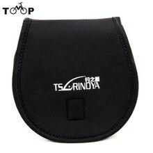 Trulinoya Fishing Reel Bag Protective Cover Spinning Reel Protective Case Sleeve Carp Fishing Bags Carp Fishing Bag