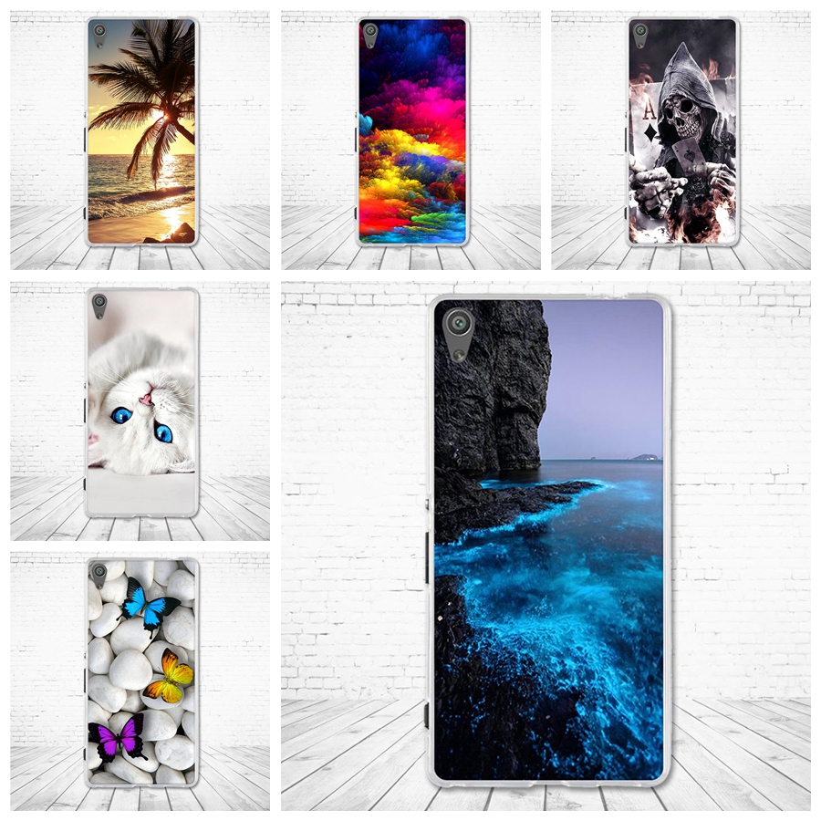 Cover for Sony Xperia XA Ultra F3212 F3211 Soft TPU Phone Case for Sony Xperia C6 Back Silicone Shells For Sony Xperia XA Ultra
