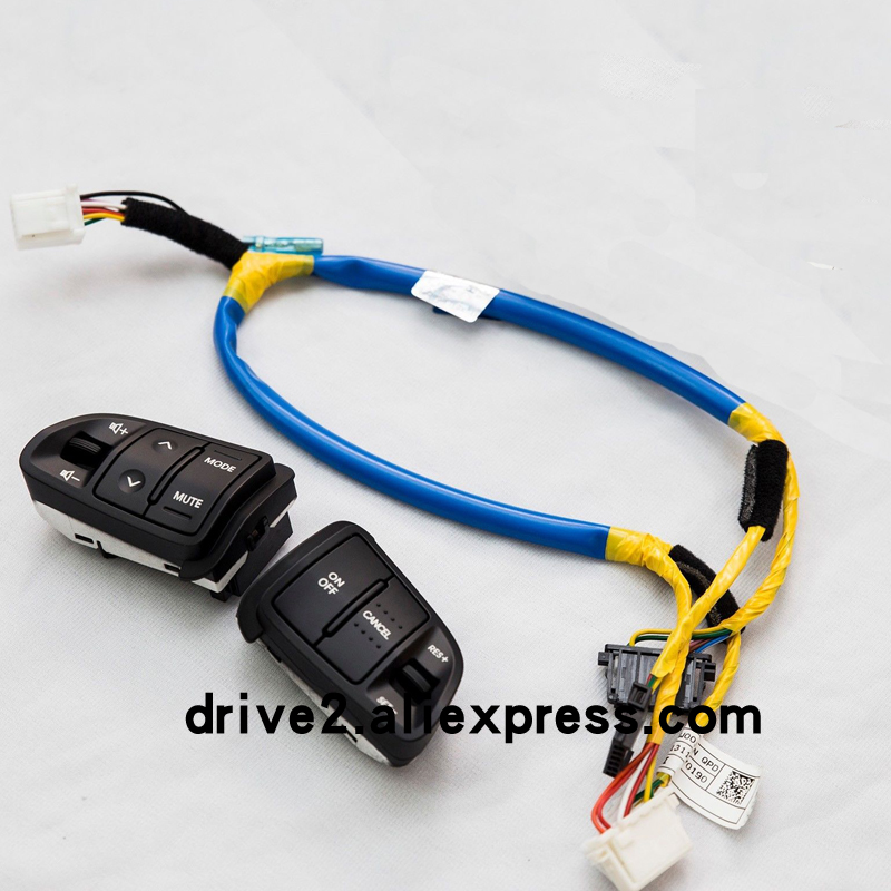 Multi function Steering Wheel Audio Cruise Control Buttons For Kia sportage with back light Car charge