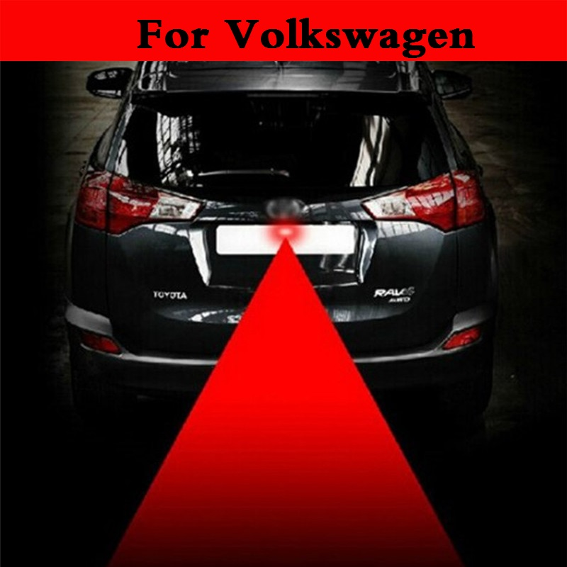 new Led Lamp Laser Anti Fog Light 12v Car Warning Lights For Volkswagen Jetta Lupo Lupo GTI Passat CC Passat R Phaeton Pointer car tracing cauda laser light for volkswagen vw jetta mk6 bora 2010 2014 special anti fog lamps rear anti collision lights