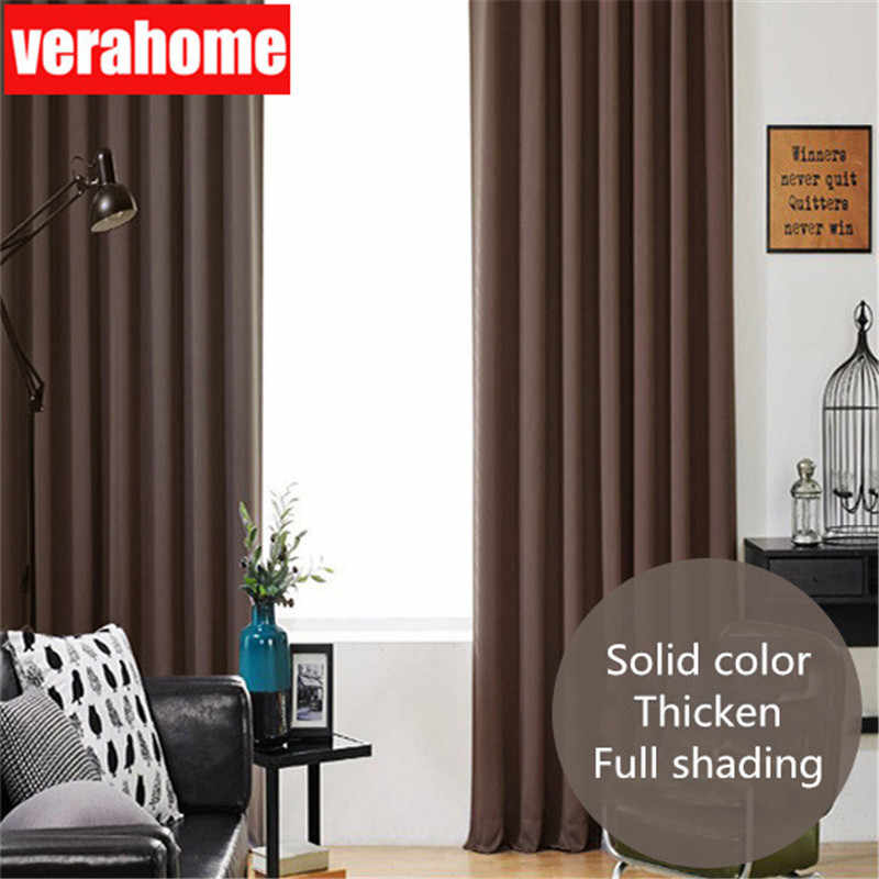 Modern blackout curtains for window for living room for the bedroom treatment blinds finished drapes solid gray navy pink