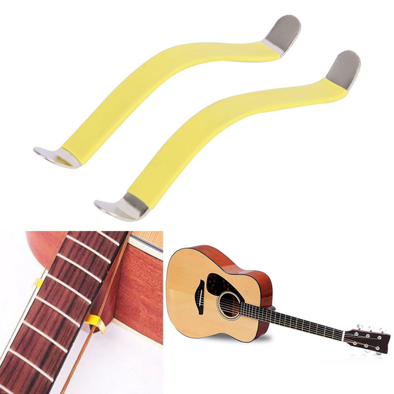 85x10mm Guitar Bass String Spreaders For Polish Cleaning Fretboard Fret 2Pcs