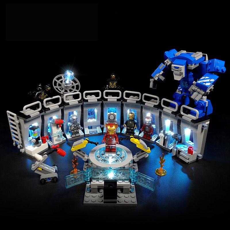 Novo marvel avengers endgame legoinglys blocos de construção tijolos super herói homem ferro máquina crianças brinquedos para crianças