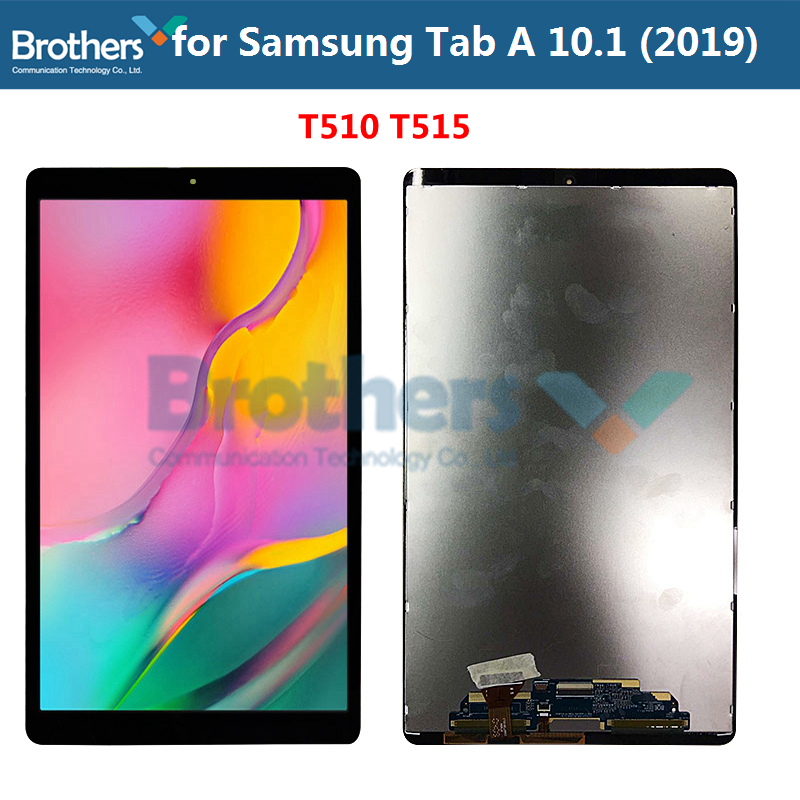 Tablet LCD Screen For Samsung Galaxy Tab A 10.1 2019 LCD Dispaly Assembly For SM-T510 T515 Touch Screen Digitizer Original Test