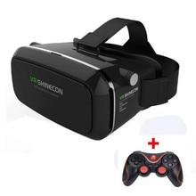 VR Shineconความจริงเสมือนแว่นตา3Dหัวหน้าเมาG Oogleกระดาษแข็ง3Dภาพยนตร์เกมสำหรับ3.5-6.0นิ้วมาร์ทโฟน+ Gamepad # B0
