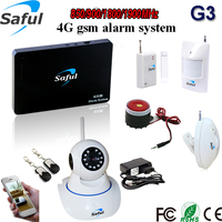 HOT Homsecur 98 Wireless Wired Defense Zones Gsm Alarm System Motion Defector Remote Ip Camera View