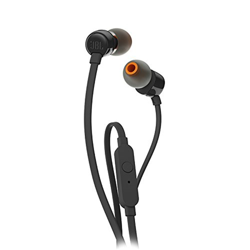 JBL T110 3.5 milímetros Mãos Livres Com Fio do Fone de ouvido Fone De Ouvido In-line de Controle com Microfone Original Jbl Audifono tws fone de Ouvido de Para Celular