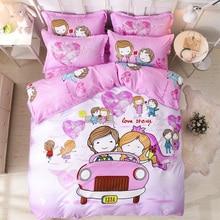 Solstice Fashion Duvet Cover Set Bed Cotton Linens Pillowcase 4pcs Bedding Twin Full Queen Super King 5 size