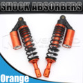"Universal 12.5 ""320mm motorcycle air shock absorber suspensão traseira para yamaha motor scooter atv quad orange d25"