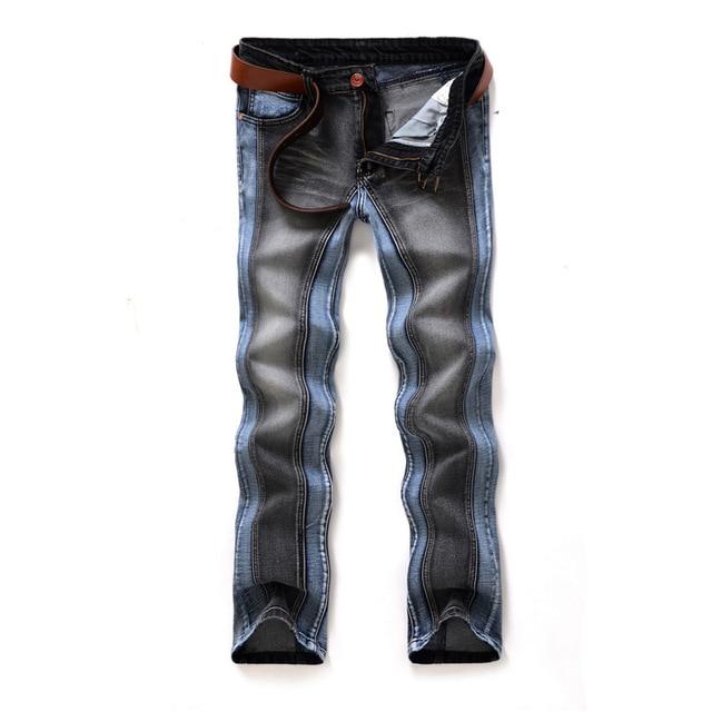 super cute 61beb 113e3 US $22.93 |2014 roccia mens jeans marche italiane jeans uomo etero  pantaloni in denim da uomo spazio di due colori 1018 in 2014 roccia mens  jeans ...