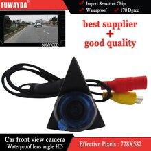 Fuwayda парковка Sony CCD HD видения автомобиля вид спереди камера для Volkswagen VW Golf Бора Jetta Touareg Passat Lavida Мужские поло tiguan