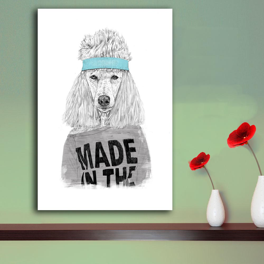 free shipping Cuadros Decoracion Painting Fitness dog Home Decorative Art Picture Paint On Canvas Prints no frame