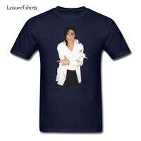 Mhael Jackson T Shirt Custom Made Comfortable T Shirt Men Short Sleeve Round Neck Tee Men