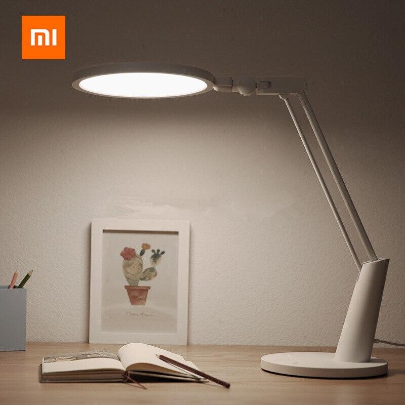Xiaomi Mijia yeelight lampe de bureau intelligent 15 W LED Protection Des Yeux Lampe de Table Pour Mi maison APP Contrôle Intelligent Gradation Lecture lumière