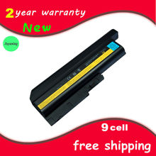 Notebook batteries Laptop battery for IBM/Lenovo R60 R60e R61 R61e R61i T60 T60p Z60m Z61e Z61m Z61p SL400 SL500 SL300 SL510(China)