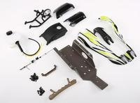 Conversion Kit for 1/5 Baja 5B Upgrate to 1/8 Q Baja fit Original Baja 5B with Plastic Roll Cage