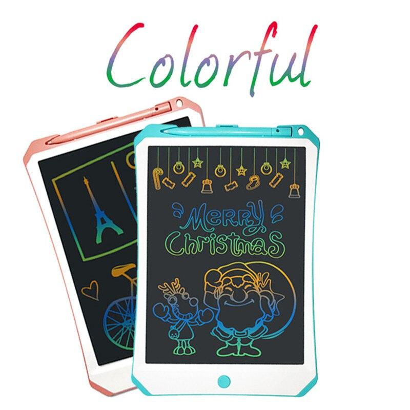11 pouces coloré LCD écriture tablette numérique écriture tampons Portable électronique graphique tablette planche à dessin pour enfants jouets