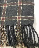 British Style Student Plaid Scarf Autumn And Winter Unisex Thicken Keep Warm Pashmina Long Type Scarf