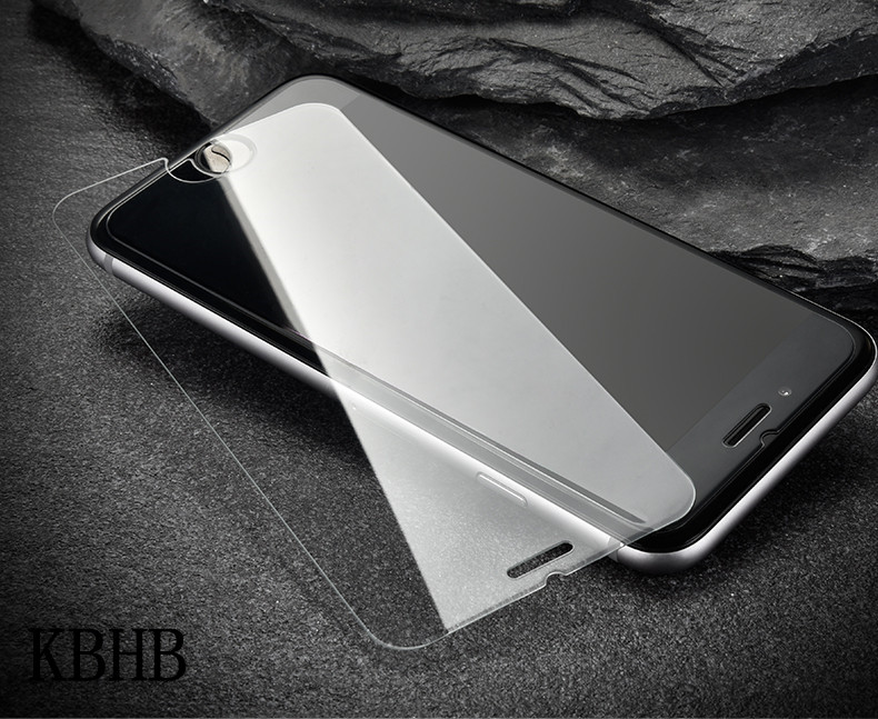 10pcs/lot 9H Tempered Glass Screen Protector For iPhone 7 <font><b>7S</b></font> 7Plus 4 4S 5 5S 5C SE 6 6S Plus iPhone 8 <font><b>Phone</b></font> Protective Film