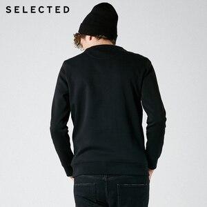 Image 4 - Мужская хлопковая толстовка с вышивкой, новая одежда с круглым вырезом, пуловер с длинными рукавами, толстовки S