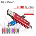 Micro Drive USB 2.0 Flash Drive Colorful OTG 4GB 8GB 16GB 32GB 64GB pen drive for Phone/Tablet/PC memory stick