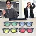 Brandy 2017 VENTA CALIENTE! de moda de corea del Diseñador de la Marca de La Visión Nocturna gafas de Sol de LOS HOMBRES/MUJERES de ojos gafas de sol estilo de la estrella 5 colores