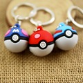 10pcs/lot pokeball keychain keyring pokemon key chain keyfob creative portachiavi chaveiro llaveros sounenir