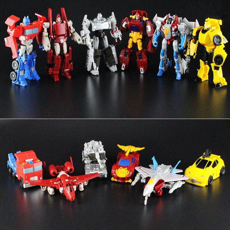 6 Style 12cm Original  transformation Toys transformation Car Robots Figures Car Toys Gifts For Kids Juguetes Brinquedos meng badi 1pcs lot transformation toys mini robots car action figures toys brinquedos kids toys gift