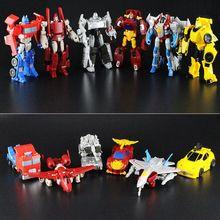 6 Стиль 12 см Оригинальные Игрушки преобразования преобразования Автомобиля Роботы Цифры Автомобиль Игрушки Подарки Для Детей Juguetes Brinquedos