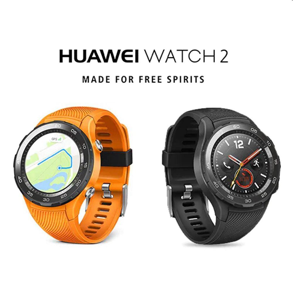 Huawei часы 2 4G LTE NFC монитор сердечного ритма gps Com & пройти Фитнес трекер IP68 приложение Smart Watch удлинитель музыка Wearable Devices (носимое устройство)