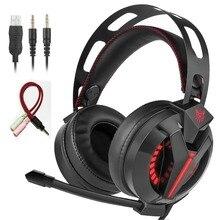 M180 PS4 Gaming fone de Ouvido Sobre A Orelha Baixo Stereo Gaming Headphone com Isolamento de ruído de Microfone para PS4 Xbox Um S PC Do Telefone Móvel