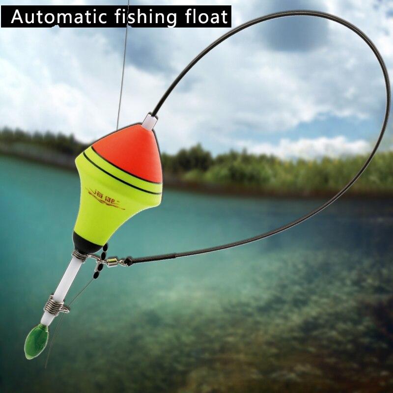 5pcs EVA Foam Luminous Fishing Floats Set for Long-distance Casting Fishing