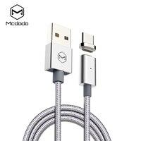 Mcdodo USB-с кабель для быстрой зарядки type-c Магнитный кабель для samsung Xiaomi OnePlus 5 huawei LG USB C с Провод для зарядки аккумулятора