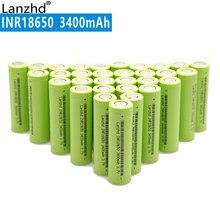 40PCS 100% Neue Original INR18650 3,7 v 3400 mah 30A 18650 Lithium-Akku Für Taschenlampe/Laptop batterien