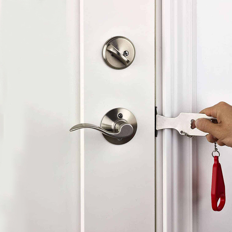 Portable hotel door lock locks Self-defense door stop travel travel accommodation door door door stopper door lockPortable hotel door lock locks Self-defense door stop travel travel accommodation door door door stopper door lock