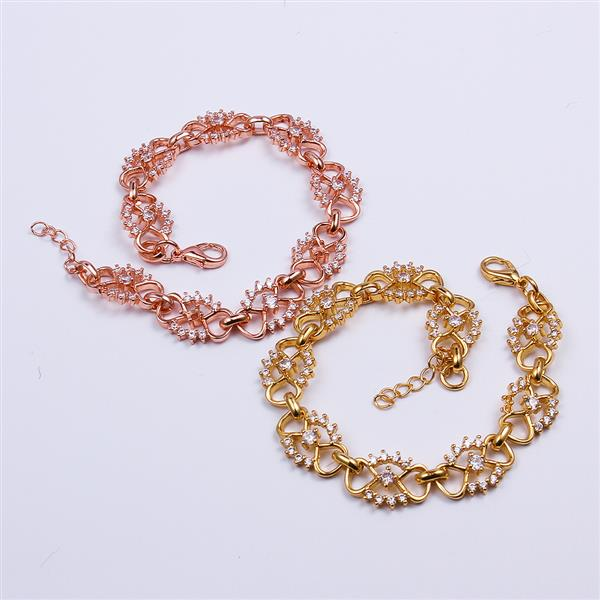 baby girls 18k gold bracelets rose gold Jewelry Bangle 18k gold