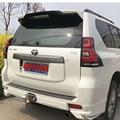 Для Toyota Cruiser Prado FJ150 2010-2018 ABS пластик черный белый цвет задний спойлер на крышу крыло багажника губы крышка багажника автомобиля Стайлинг
