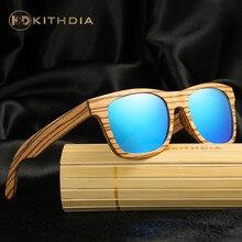 KITHDIA TOP Brand Designer Bamboo Sunglasses Wood For Women Men vintage Glasses Retro Mens gafas oculos de sol madeira