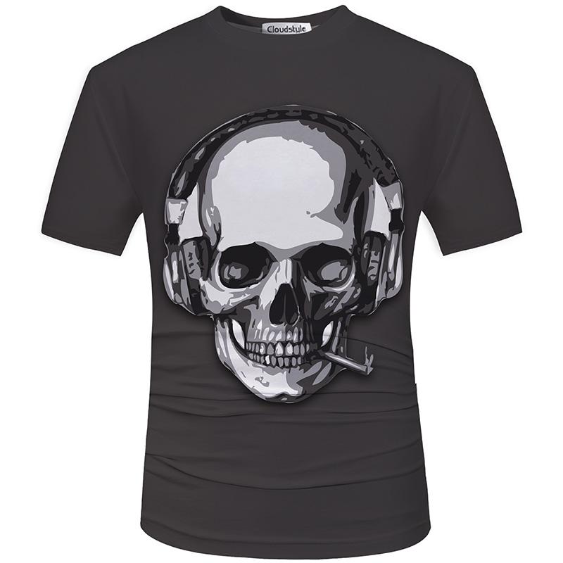 HTB1zSiISFXXXXcYXVXXq6xXFXXXC - Men's New Fashion 2018 - Quality 3D Skull Print Design Stylish Casual T-Shirt