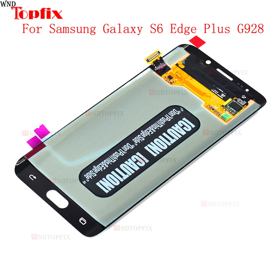 Lcd Display Touch Screen DigitizerAssembly For Samsung Galaxy S6 Edge Plus G928F G928A G928I Super AMOLED LCD Replacement Parts (2)