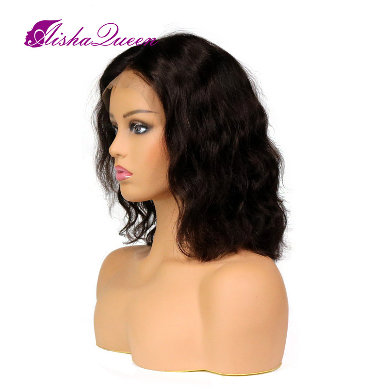 Glueless Πετσέτα Πλήρης Lace Ανδρικά μαλλιά - Ανθρώπινα μαλλιά (για μαύρο) - Φωτογραφία 2